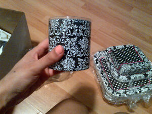 Black and white party supplies; Paris themed Kitchener / Waterloo Kitchener Area image 4
