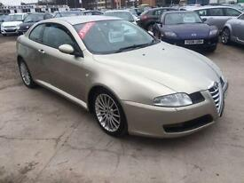 2006 ALFA ROMEO GT 1.9 JTDm 16V DIESEL COUPE FULL CREAM LEATHER