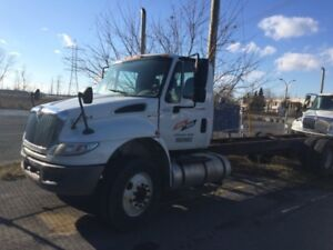2012 International 4300 4x2, Used Cab & Chassis