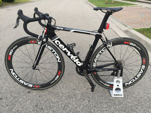 Cervelo S3 Dura Ace with Easton Wheels Size 54