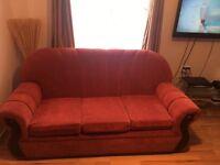 3 seater sofa plus a single sofa