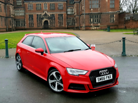 2017 AUDI A3 - S LINE - FACELIFT - 1.4 TFSI - S3 REPLICA - ONLY 30K