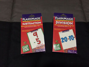 Math Flashcards Cambridge Kitchener Area image 1