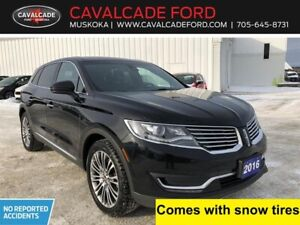 2016 Lincoln MKX Reserve trailer tow pkg, moonroof, nav, leather