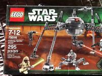 3 Star Wars Lego sets - brand new never opened