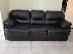 Leather Sofa(3 Seater + Love Seat)