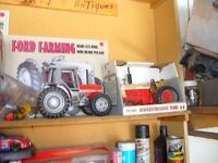 Die Cast Models - Cars and Tractors