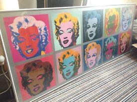 Marilyn Monroe Warhol Pop Print