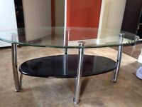 Glass coffee table - FREE