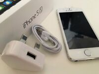Iphone 5S White Refurbished New with Box