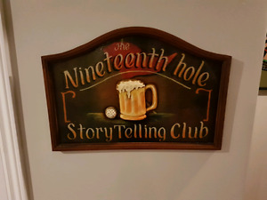 Vintage  Country Club Golf Sign