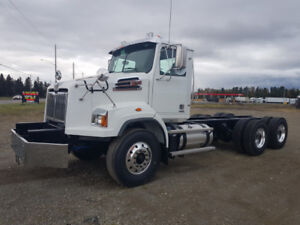 2019 Western star, 4700SB, snow plow cab and chassis.