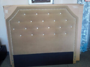 GORGEOUS UPHOLSTERED HEADBOARDS ON SALE NOW
