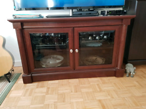 Beautiful cabinet with glass doors