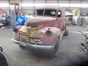 1941 GMC  1/2 ton panel truck TRUCK COULD LOOK LIKE LAST PIC.
