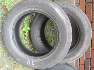 2 FIRESTONE P215-65-R17 4 SEASONS 2 BRIDGESTONE P225-60 R17