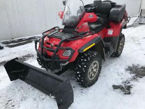 Pelle à neige pour VTT 4 pieds ou 5pi NEUFFF