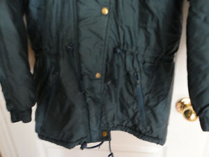 Girl's Nevada blue teal coloured jacket coat hood Size XL 14 London Ontario image 4