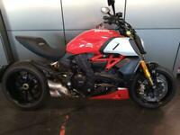 Ducati Diavel 1260s 2020 with just 114 miles
