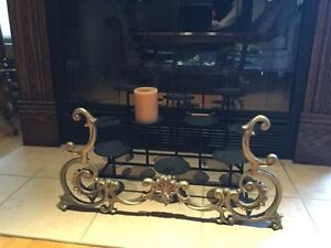Large Pewter style candle holder West Island Greater Montréal image 1