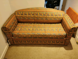 Small Double Sofa Bed / 2 Seater