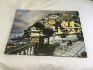 "Amalfi Coast canvas print wall art 30x40"""