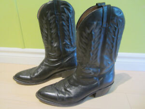 Leather Cowboy boots size 12