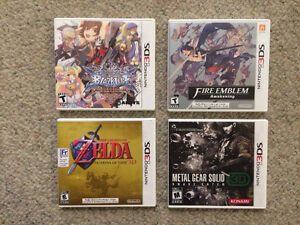 Nintendo 3DS Games Complete and in MINT Condition