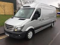 2014 Mercedes-Benz Sprinter 2.1 CDI 316 LWB Refridgerated Fridge Van Manual Pane