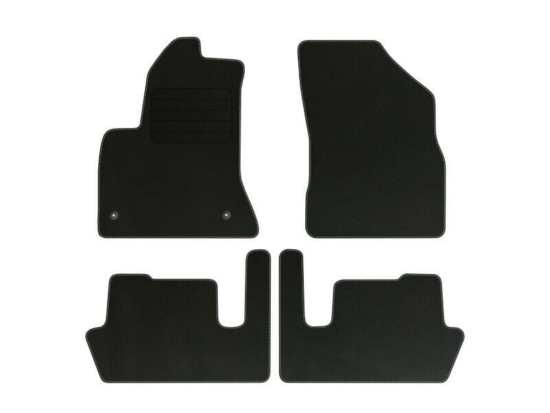 Velours Fußmatten für Citroen C4 Picasso I Bj. 2006 - 2012 Automatten 4-tlg STD