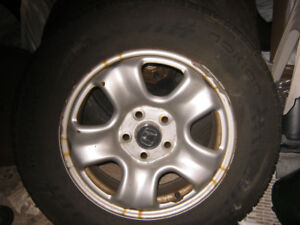 SUMMER TIRES FOR SALE.