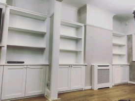 Bepoke/Fitted furniture, wardrobes, alcoves, bay windows, handyman
