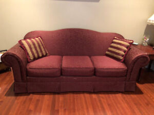 SOFA SET 3 PC NEW Reduced Price & free Centre Wooden Table