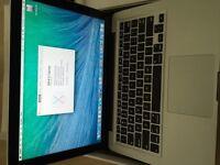 MacBook Pro 13-inch 2012 Model Core i5 2.5GHz 4GB RAM 500GB HD A1278