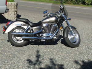 Honda Shadow 1100 looking for a new home!