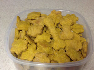 Homemade Dog Treats - dehydrated Lamb Tripe - Smoked bones