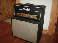 Marshall 18 watts Head  + 1/12 Cab