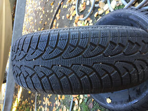 205 65 R15 winter tires! Set of 4 not on rims.
