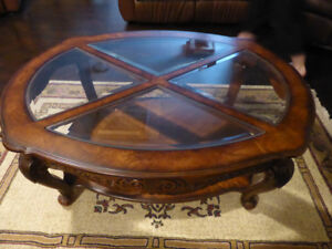 4 Piece Coffee / End Table / Sofa Table