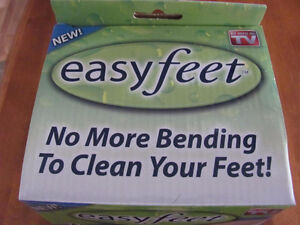 BRAND NEW EASY FEET Foot Scrubber