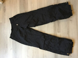 Powder room size small snow pants black