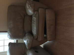 Reclining couch + chair need gone before Monday!