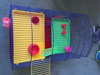 Hamster cage for sale (£35 or nearest offer)