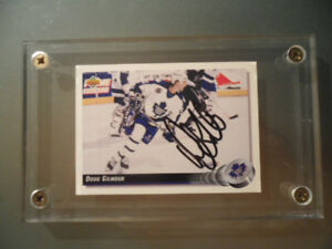 DOUG GILMOUR  AUTOGRAPHED CARD