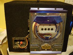 Jensen 340 Watt amp and 1000 Watt sub