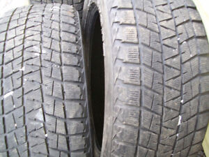 245/55/R19 SNOW TIRES FOR SALE
