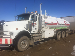 Pre-Emmision Freightliner Tri-Drive Water Truck