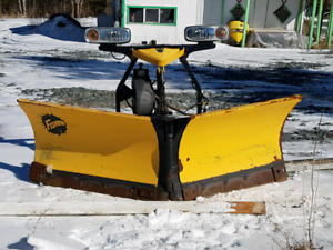 Fisher plow and Salter