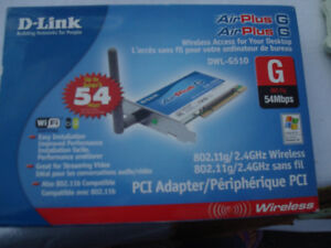 D link PCI wireless adapter