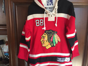 Kane Chicago Blackhawks youth jersey hoodie